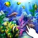Magic touch: Caribbean fishes icon