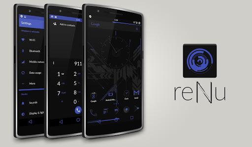 reNu Material Blue CM11 CM12