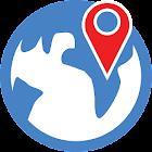 查找城市的地方 icon