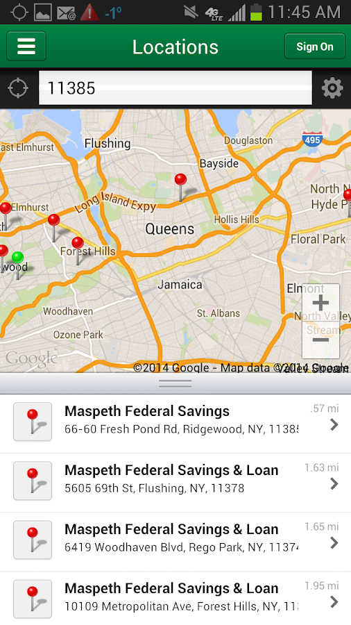 Maspeth Savings Mobile- screenshot