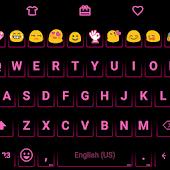 Neon Pink - Emoji Keyboard