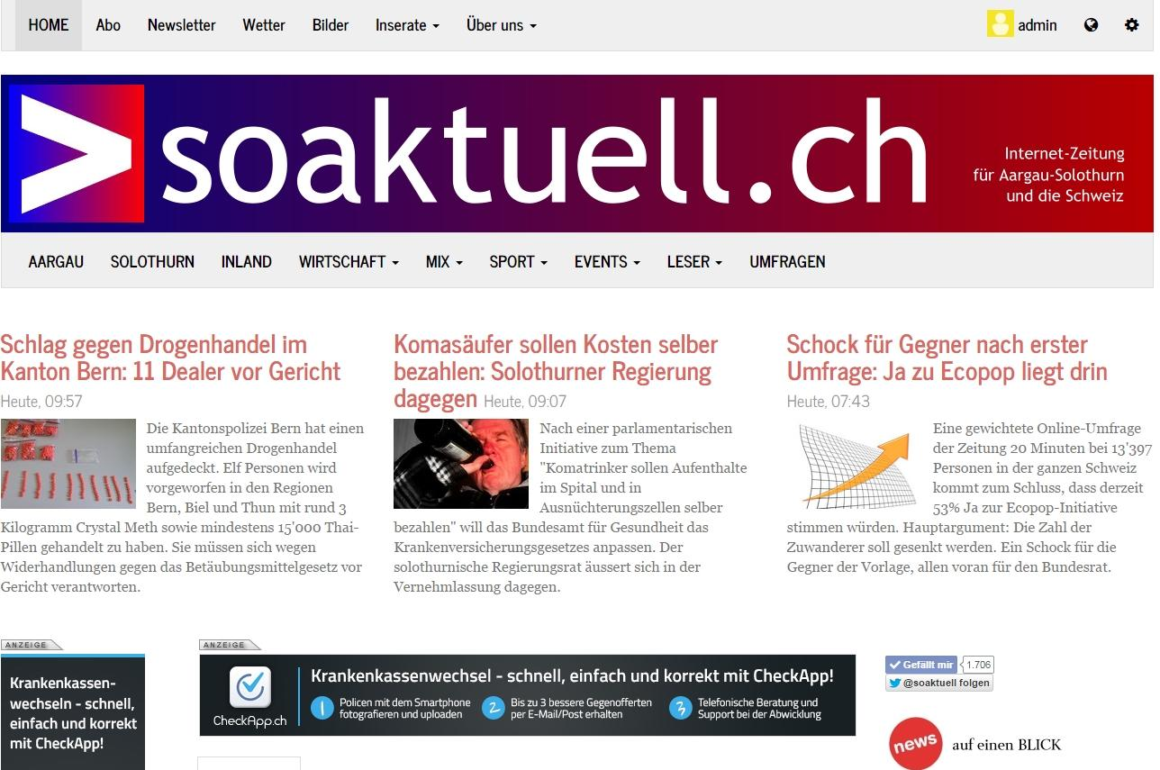 soaktuell.ch- screenshot