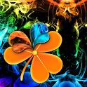 GOLauncher Theme rainbow smoke icon