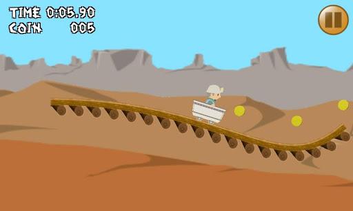 ポンコツ☆トロッコ 1タップゲーム 超低性能車でレッツゴー!