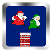 Jolly Santa Chimney Hurdles