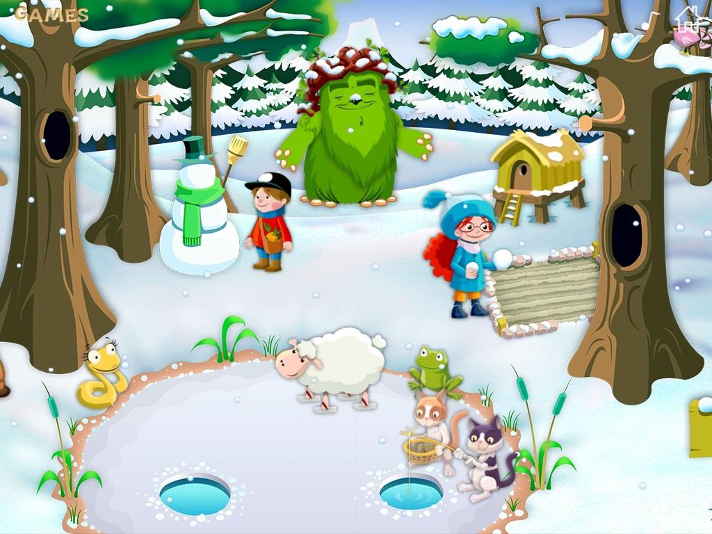 Greenman and the Magic Forest- screenshot