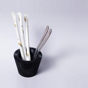 Stratum Cutlery Stand_001(black)