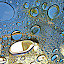 Droplets by Deborah Russenberger - Abstract Water Drops & Splashes ( abstract, water, rain,  )