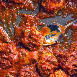 Clean Harissa Chicken Zucchini Meatballs