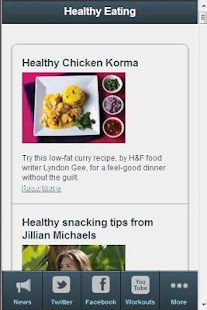 Womens Fitness Tips - screenshot thumbnail