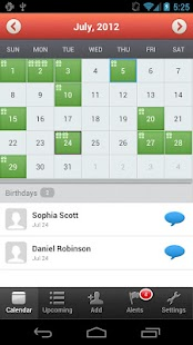 MyCalendar - screenshot thumbnail