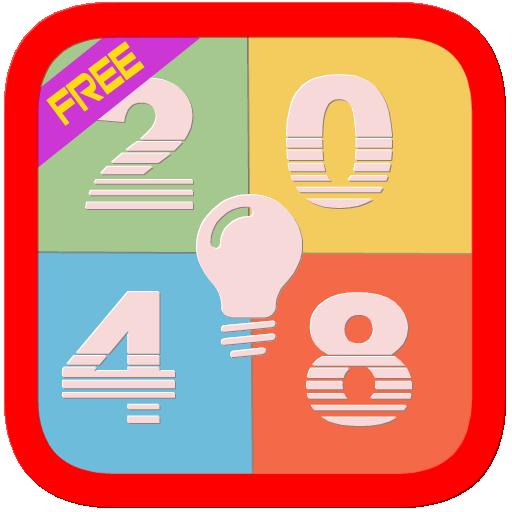 2048 Games Free : Puzzle Plus