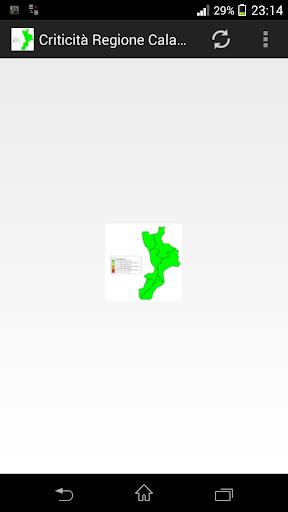 Criticità Regione Calabria