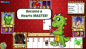 Screenshot of Championship Hearts Card Game