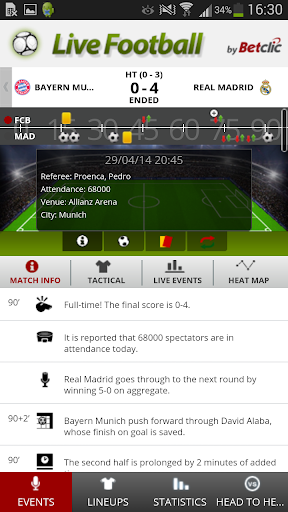 Betclic Live Football