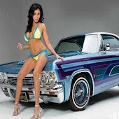 Lowrider Girl Live Wallpaper
