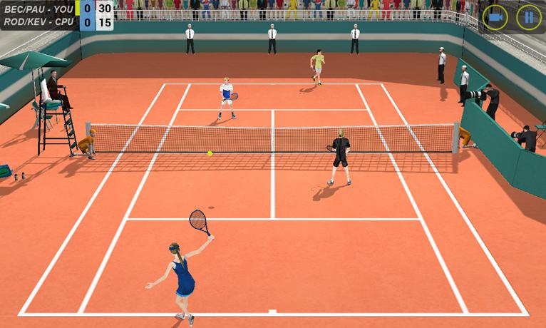 Flick Tennis screenshot #4