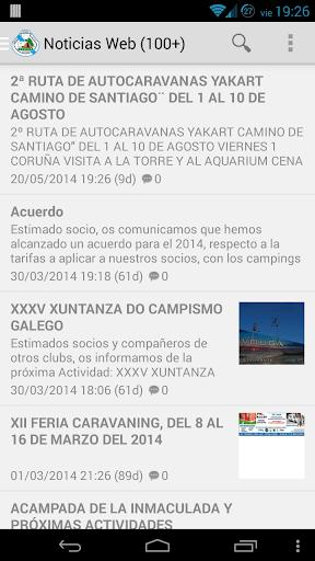 Caravaning Club A Coruña