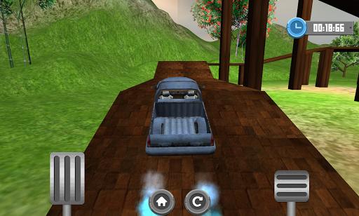 卡車平台爬坡賽3D