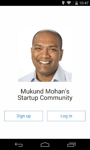 Mukund Mohan Startup Community