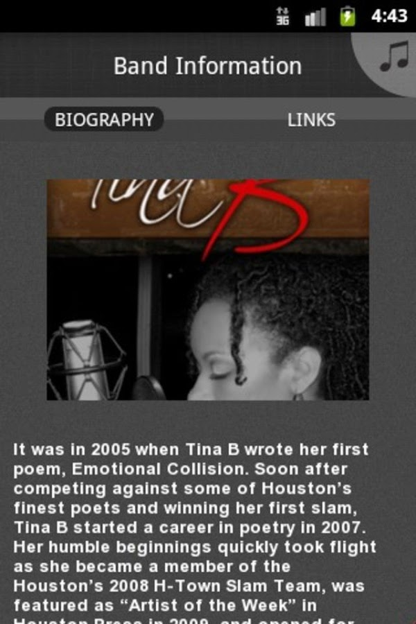 Tina B - screenshot