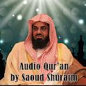 Audio Quran by Saoud Shuraim icon