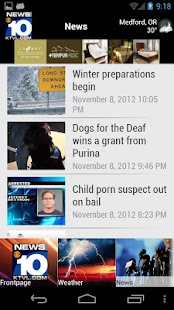 KTVL News 10 - screenshot thumbnail