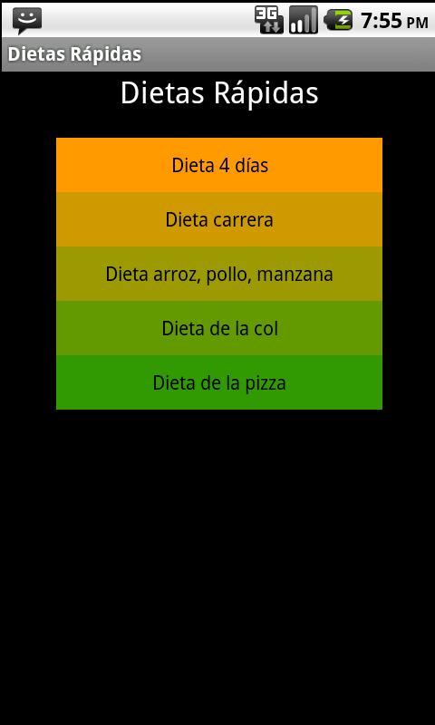 Dietas para Perdida de  Peso - screenshot