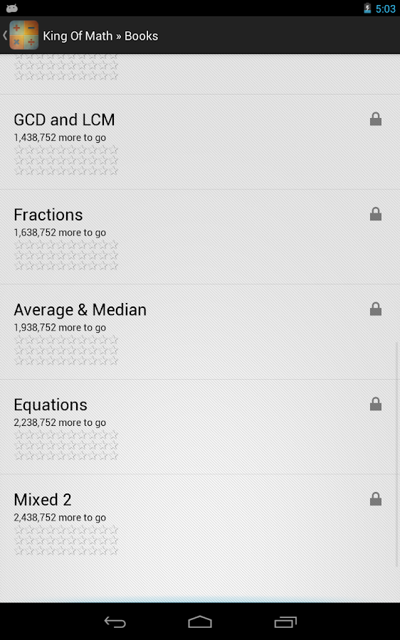 King of Math - screenshot