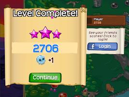 Screenshot of Bubble Raider