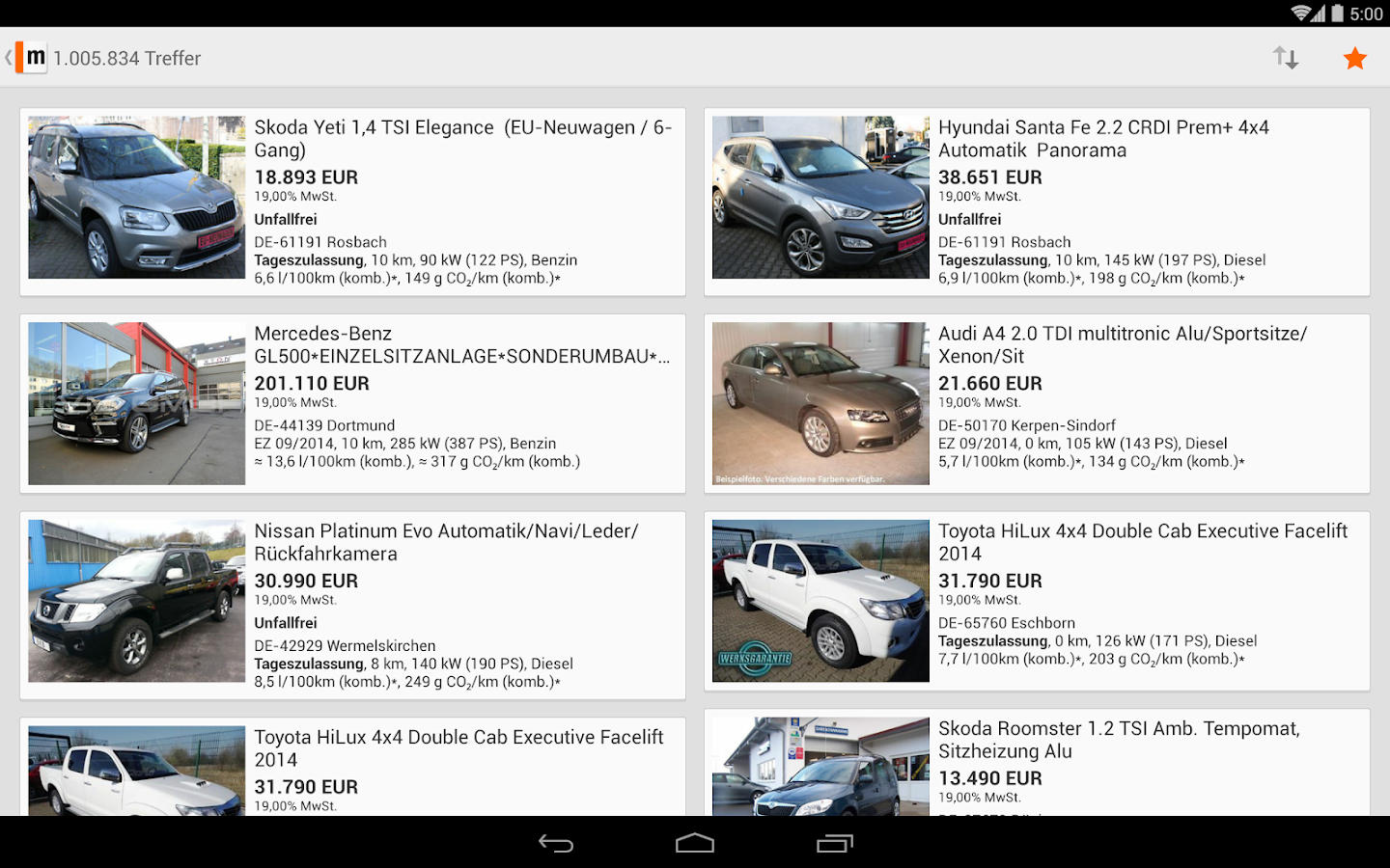 vehicle market android apps on google play. Black Bedroom Furniture Sets. Home Design Ideas