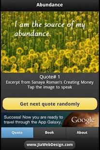 Abundance - Creating Money - screenshot thumbnail