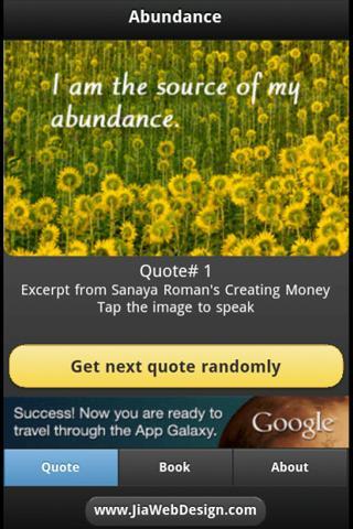 Abundance - Creating Money - screenshot