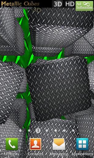 Metallic Cubes Live Wallpaper FULL v1.0