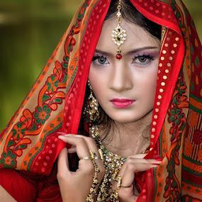 bollywood style by Vian Arfan - People Portraits of Women