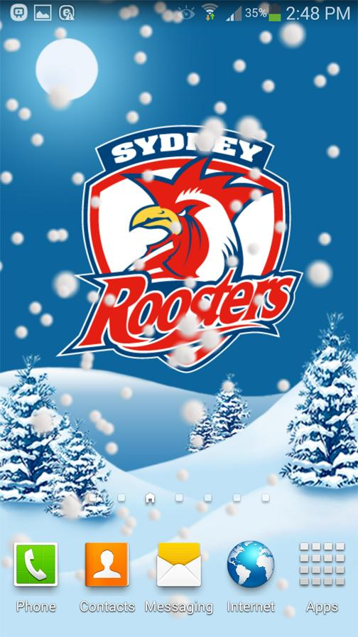 Sydney Roosters Snow Globe- screenshot