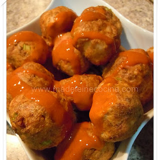 Chicken Meatballs.