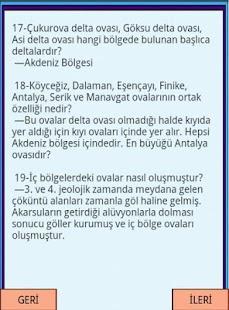 KPSS COĞRAFYA Plato ve Ovalar - screenshot thumbnail