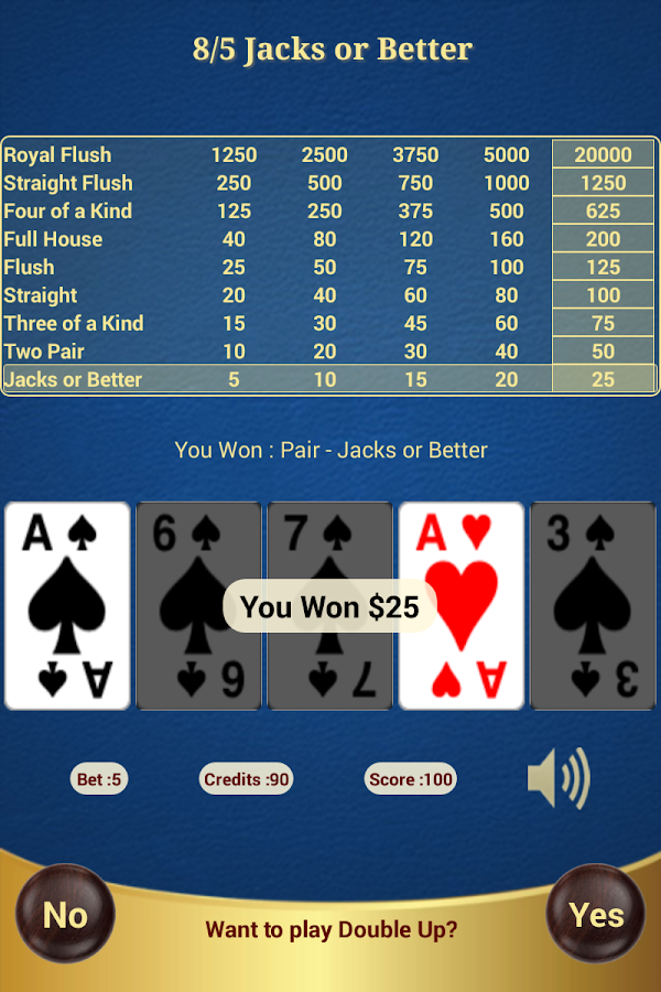 video poker 9 6 jacks or better strategy cards for math