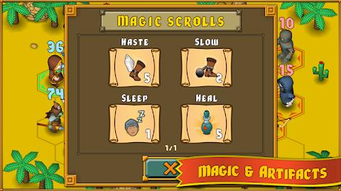 Heroes : A Grail Quest Screenshot 5