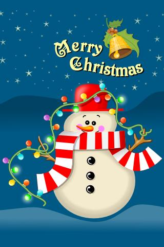 FGG Snowman Wallpaper Lite - screenshot