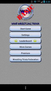 WWE Wrestling Trivia Premium