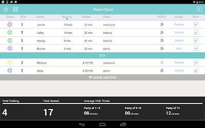 Download Waitlist Me for android   Seedroid