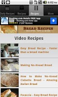 Screenshot of Bread Recipes!