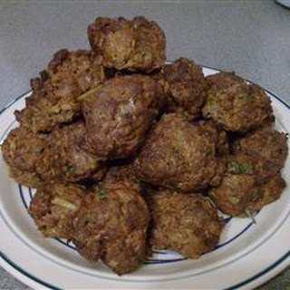 Turkish Rissoles.