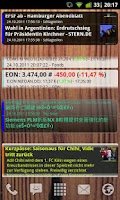 Screenshot of Scrollable News Widget AtomaRS