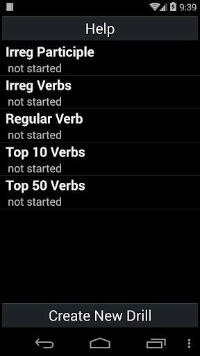 英語動詞練習器