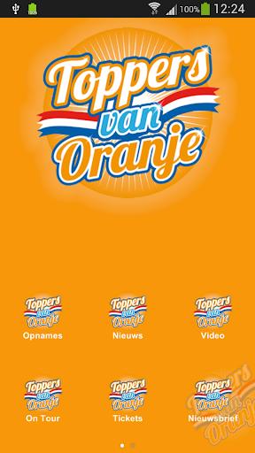 Toppers van Oranje