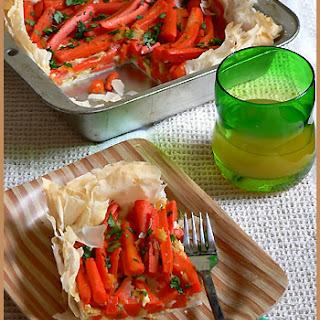 Filo Carrot Tart