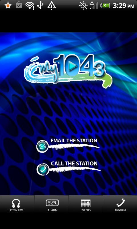 WCZY My 104.3 - screenshot